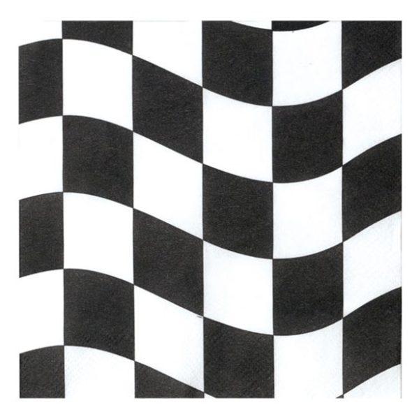 Grand Prix Racing Car Themed Paper Napkins