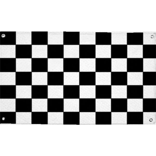 Chequered Cloth Flag