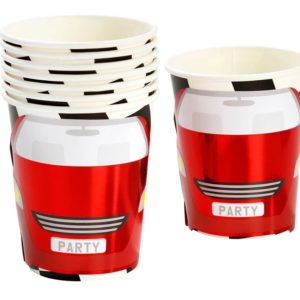 Racing Car Themed Paper Cups
