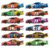 Race Car Props Wall Decorations