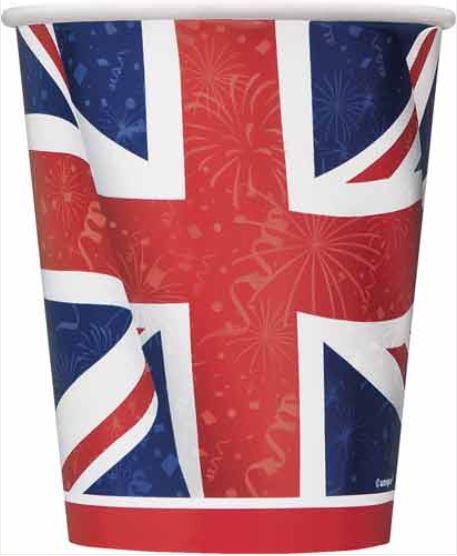 Union Jack Party Cups