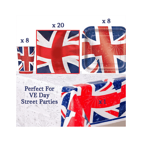 Union Jack Party Pack – Perfect for Celebrating VE Day